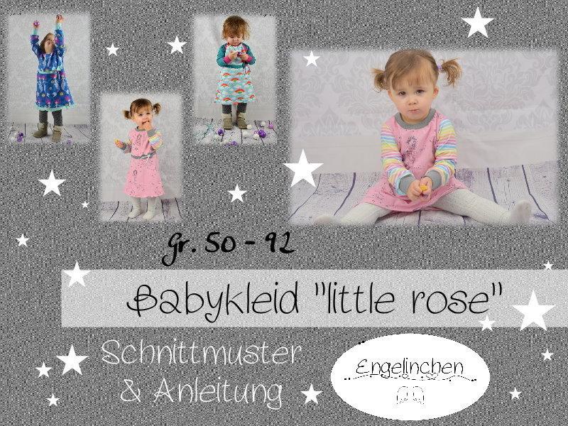 eBook Schnittmuster Babykleid little rose 50-92 - Engelinchen