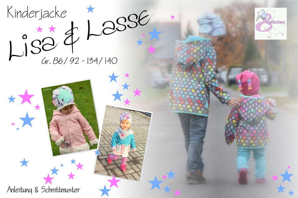 eBook Schnittmuster Kinderjacke Lisa & Lasse 86-140 - Engelinchen