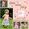 eBook Schnittmuster Kleid little miss fairy 62-176