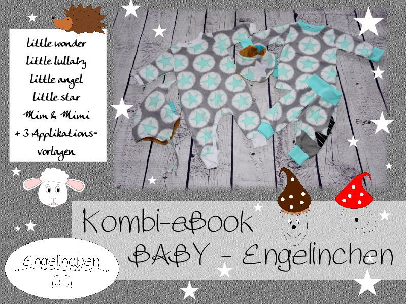 Kombi eBook Bundle Baby Engelinchen 50-92
