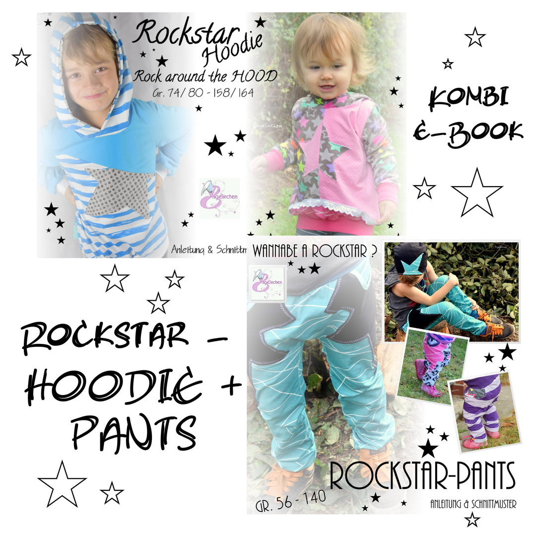 Kombi eBook Bundle Rockstar pants & Hoodie
