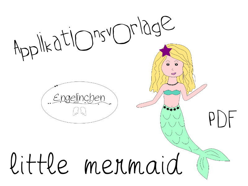 Applikationsvorlage little mermaid