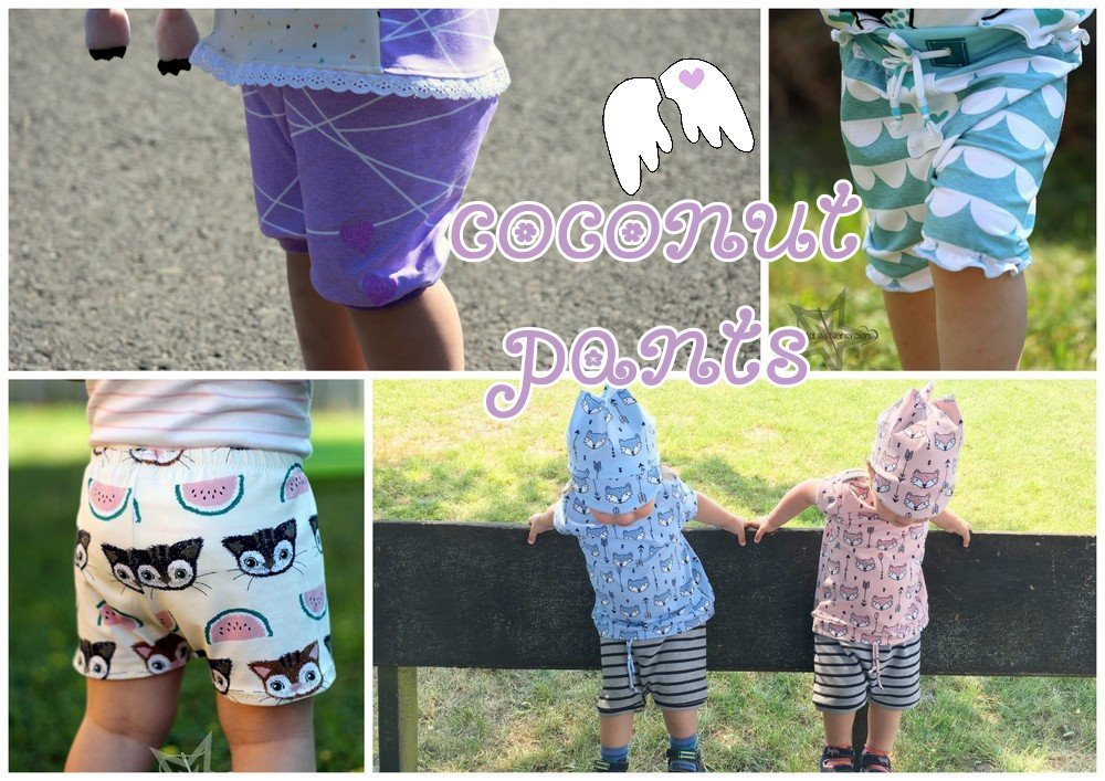 Freebook Baby Sommerhose coconut pants 50-92