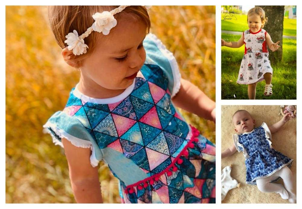 Kleid little Sue Sommerkleid Babys Gr. 50 - 92 Schnittmuster ...