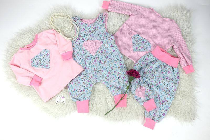 Diamond Baby Bundle Gr. 50-92 Romper Hose Shirt Cardigan