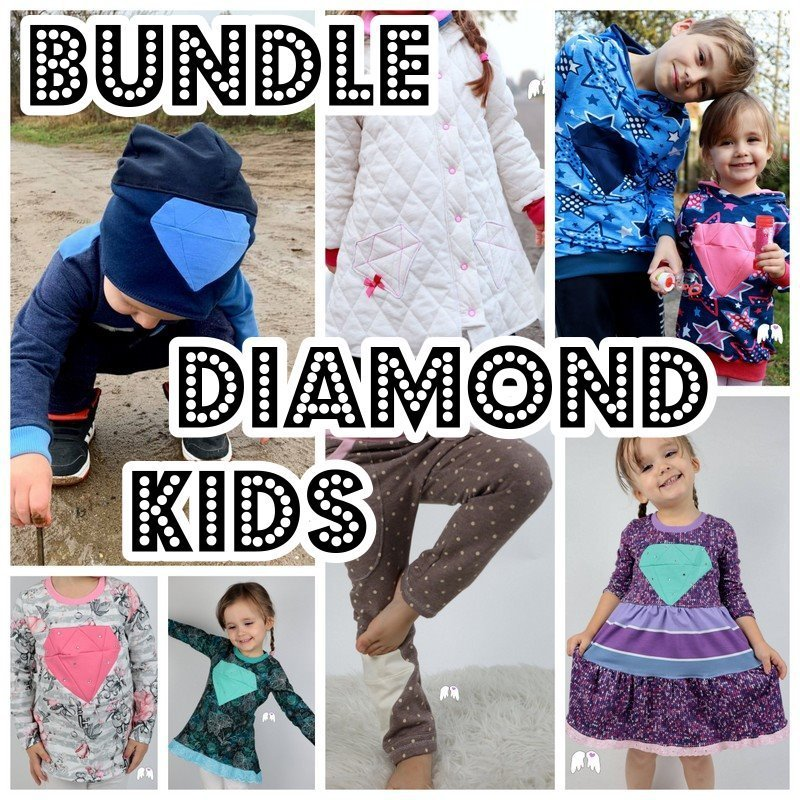 DIAMOND KIDS Bundle 7 Schnitte 86 - 164